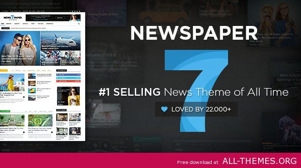 Newspaper v7.1.1 - WordPress News Theme
