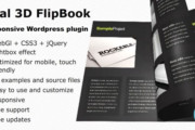 Real 3D FlipBook v2.19 - WordPress Plugin