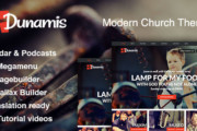 Dunamis - Modern Church theme