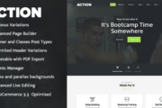 Action v1.3.2 - Fitness and Crossfit Theme