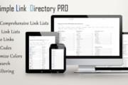 Simple Link Directory Pro v1.0